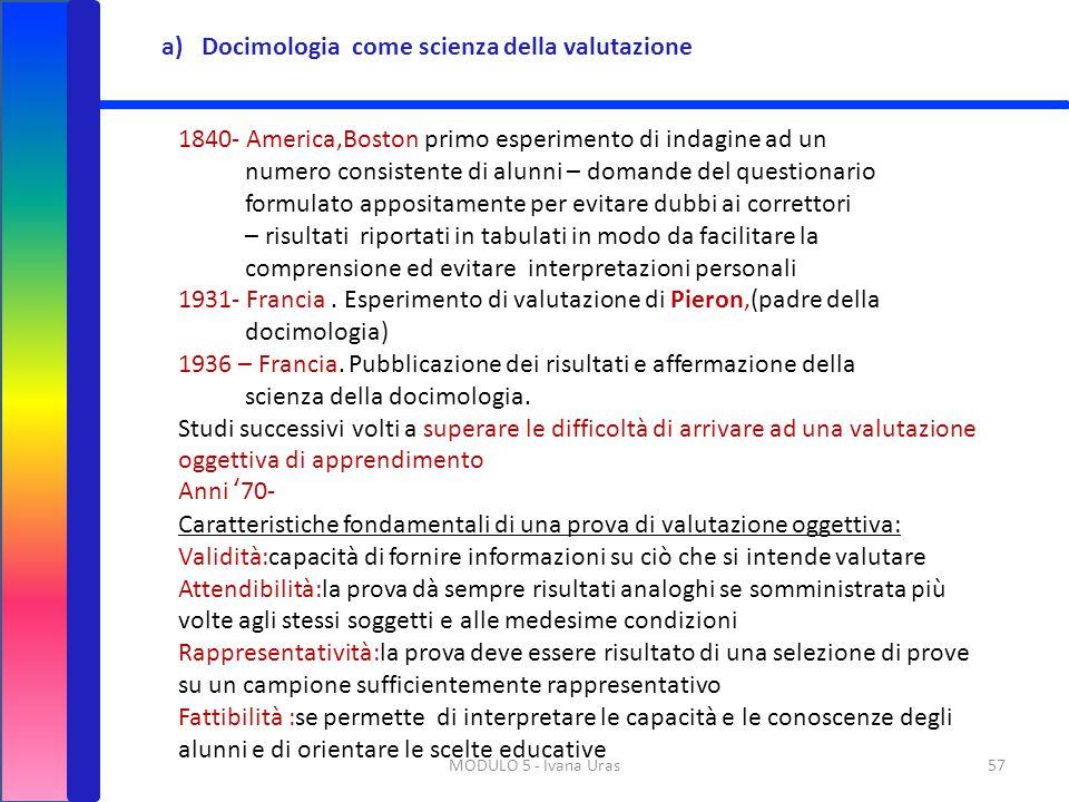 Docimologia come scienza della valutazione