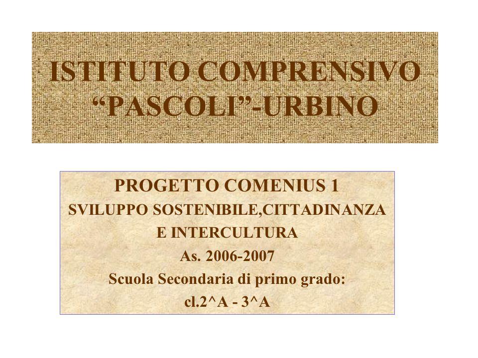 ISTITUTO COMPRENSIVO PASCOLI -URBINO