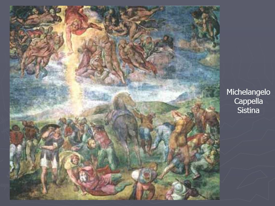 Michelangelo Cappella Sistina