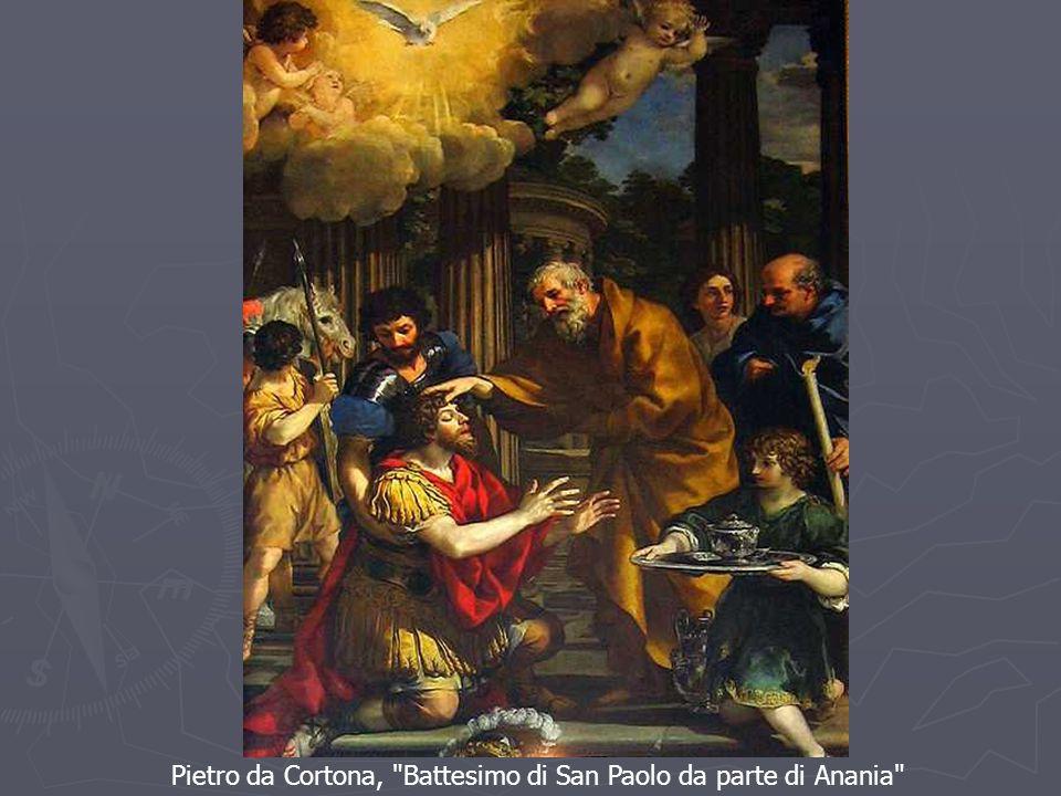 Pietro da Cortona, Battesimo di San Paolo da parte di Anania