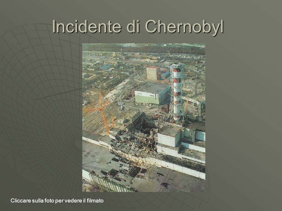Incidente di Chernobyl