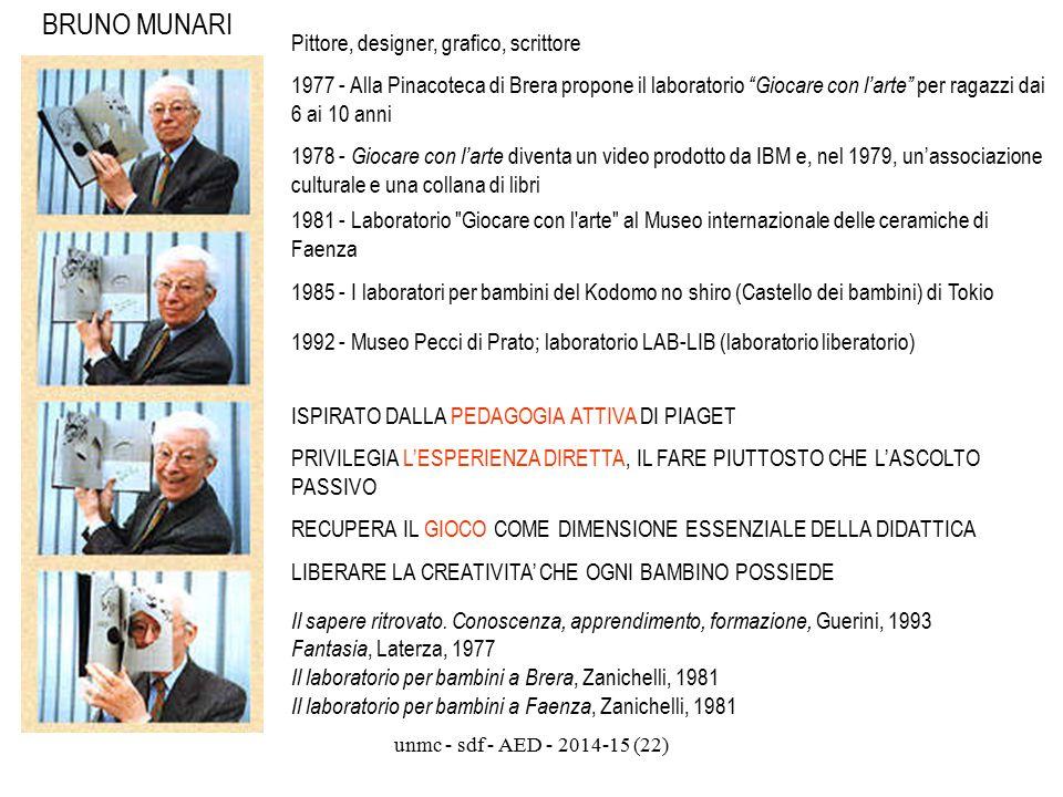 BRUNO MUNARI Pittore, designer, grafico, scrittore
