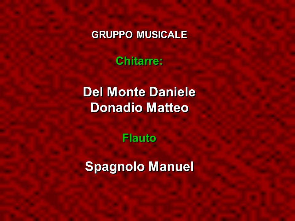 Del Monte Daniele Donadio Matteo Spagnolo Manuel