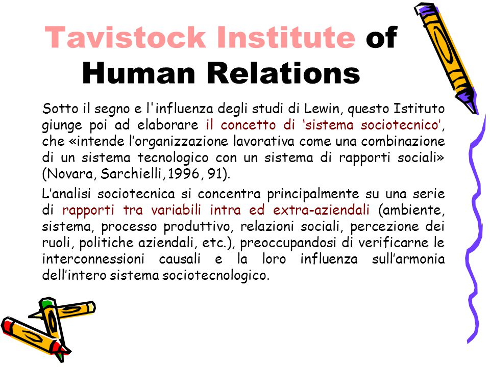 Tavistock Institute of Human Relations