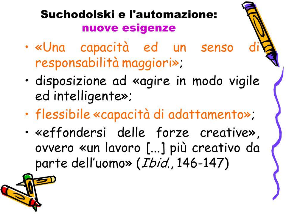 Suchodolski e l automazione: nuove esigenze