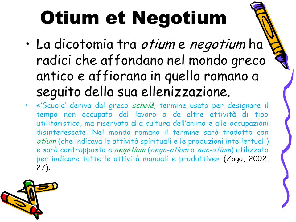 Otium et Negotium