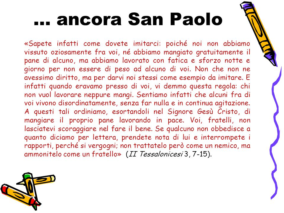 … ancora San Paolo