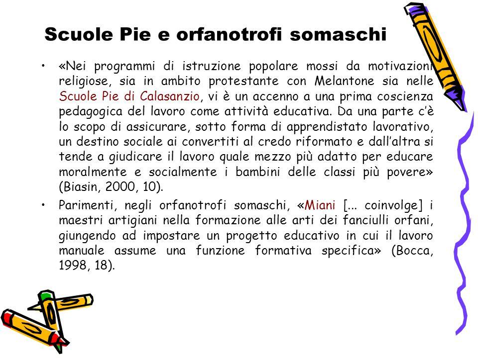 Scuole Pie e orfanotrofi somaschi