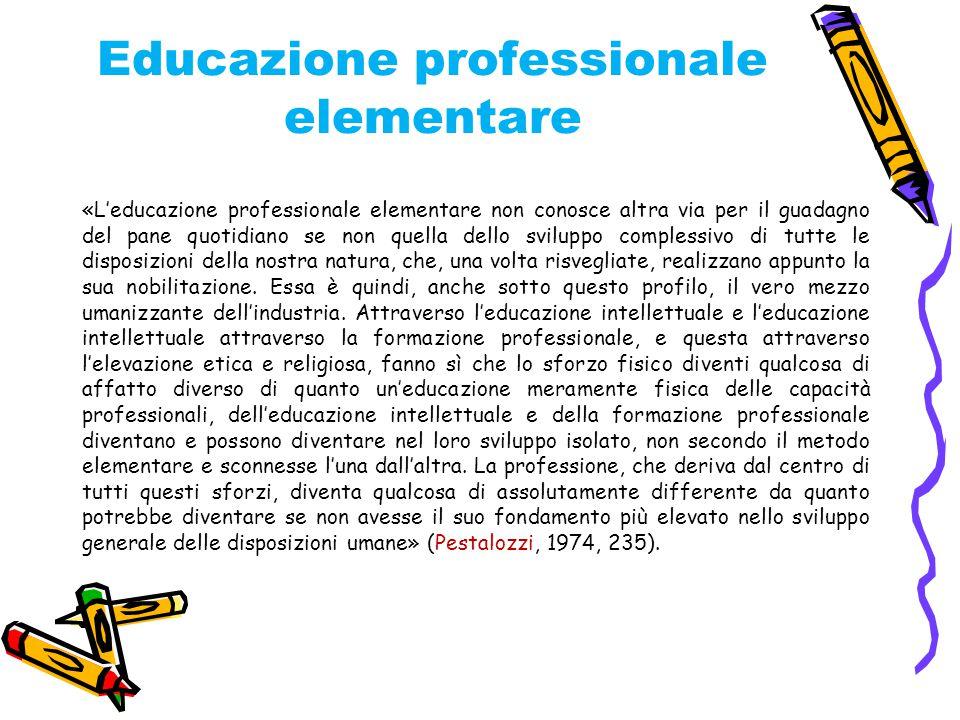 Educazione professionale elementare