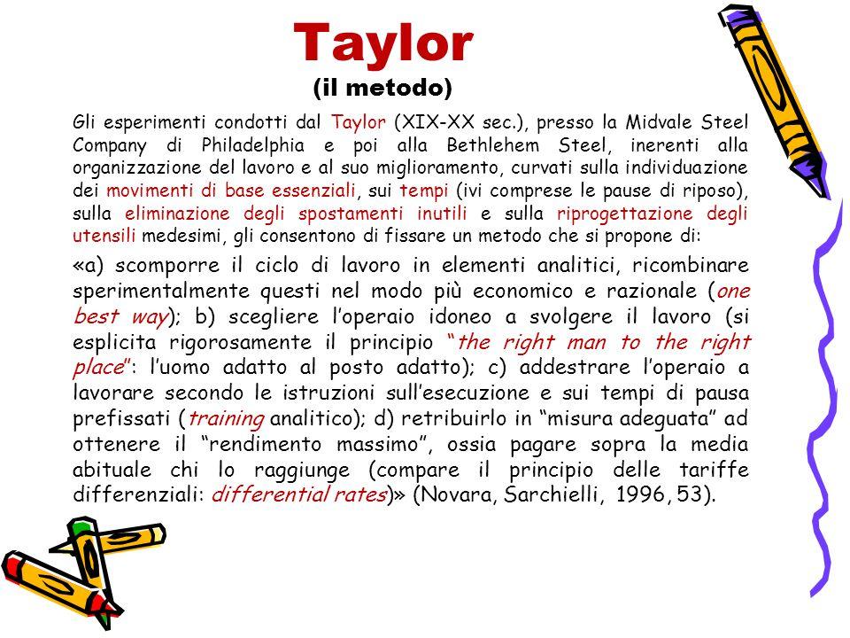 Taylor (il metodo)