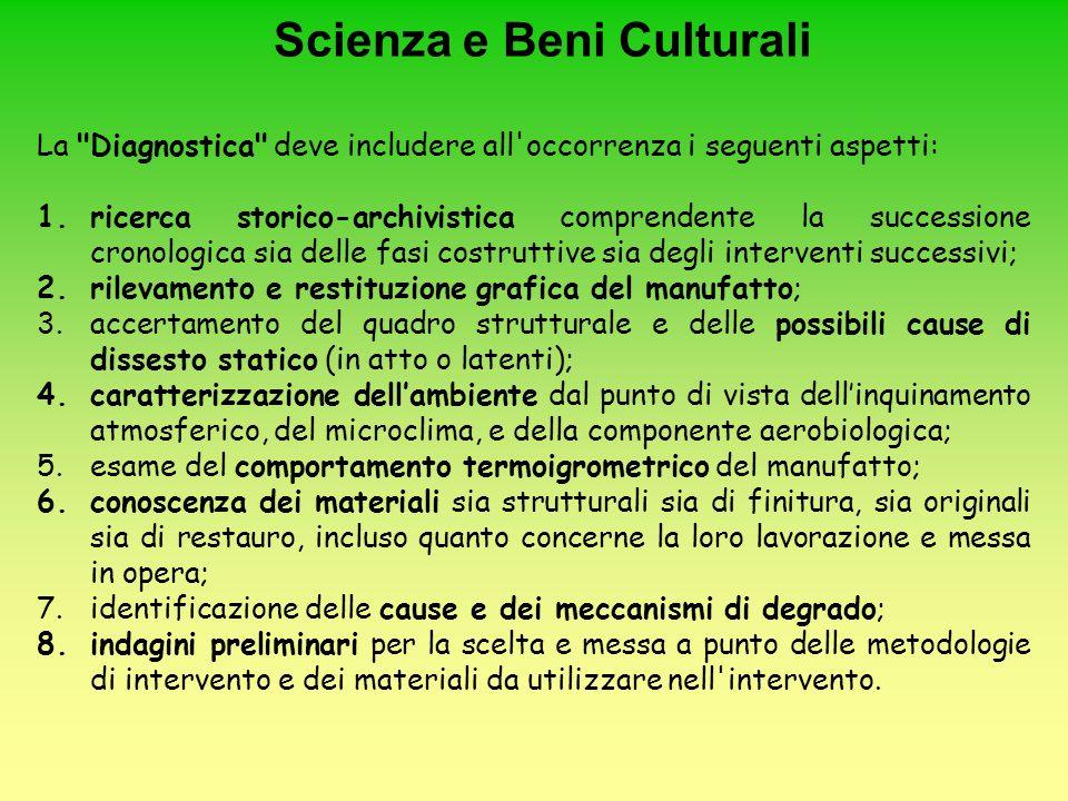 Scienza e Beni Culturali