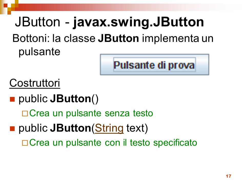 JButton - javax.swing.JButton