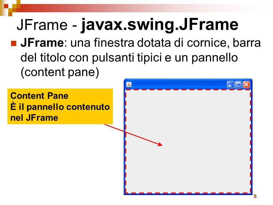 JFrame - javax.swing.JFrame