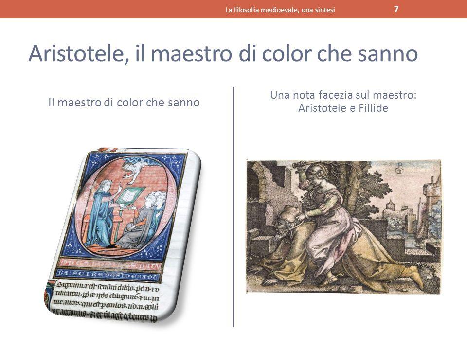 Aristotele, il maestro di color che sanno
