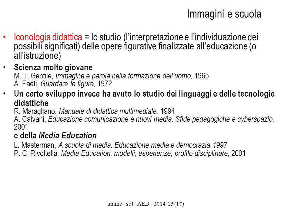 Immagini e scuola