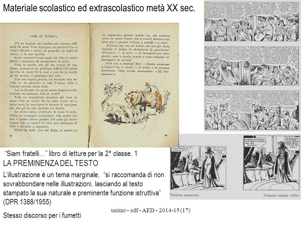 Materiale scolastico ed extrascolastico metà XX sec.