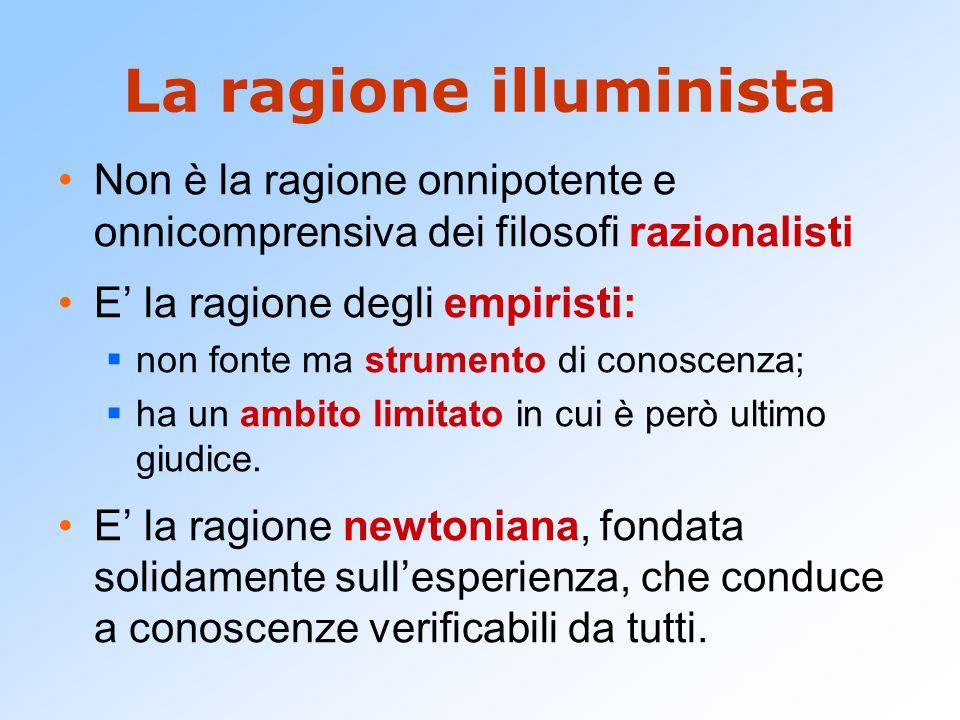 La ragione illuminista