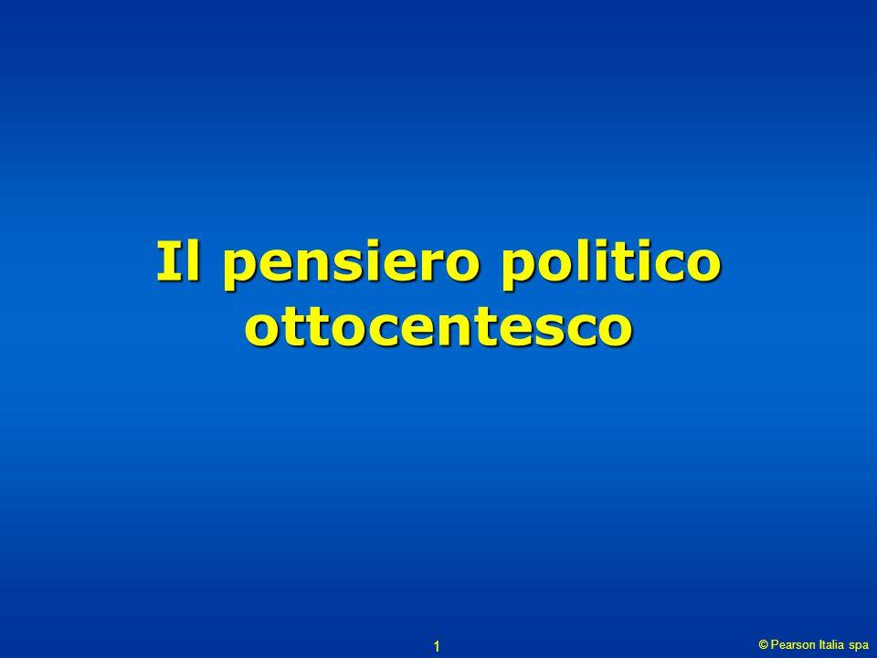 Il pensiero politico ottocentesco
