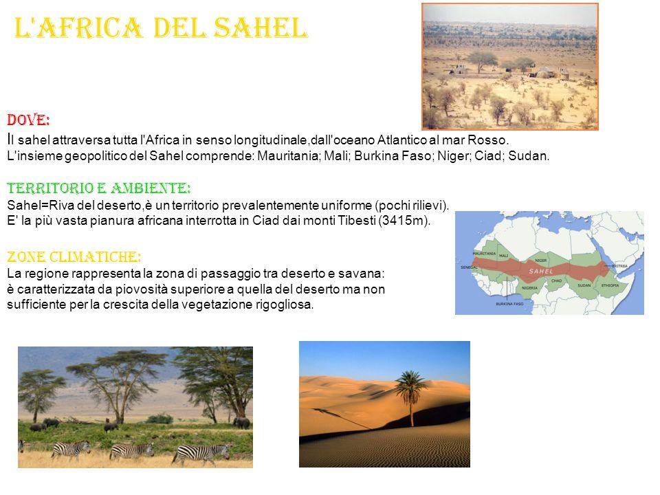 L africa del Sahel DOVE: