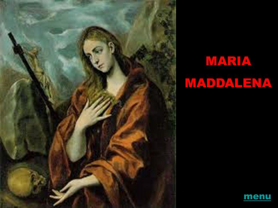MARIA MADDALENA menu