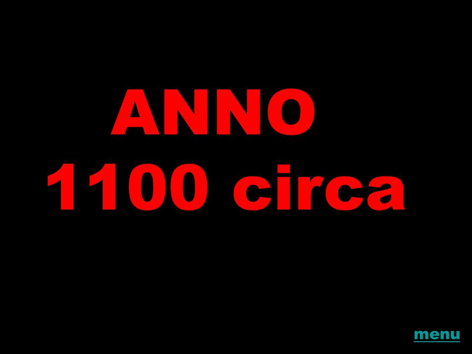 ANNO 1100 circa menu