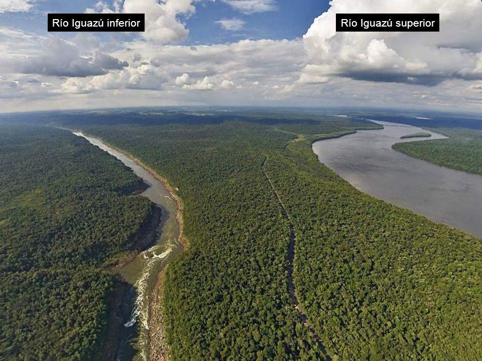 Río Iguazú inferior Río Iguazú superior