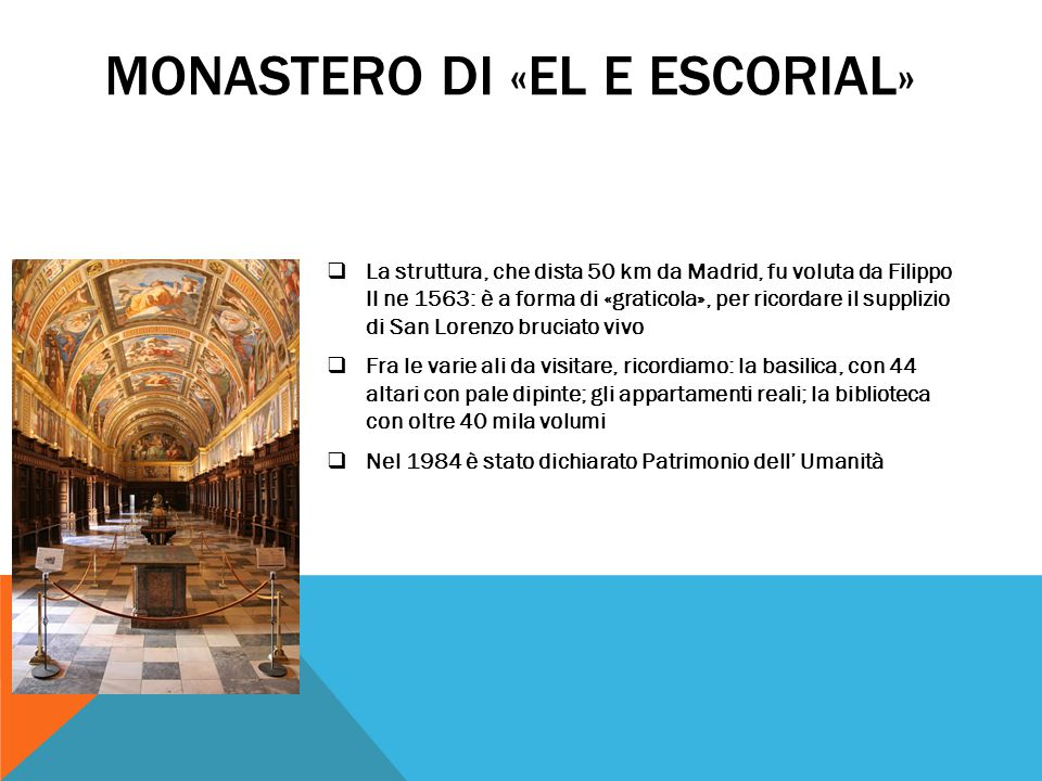 Monastero di «El E Escorial»