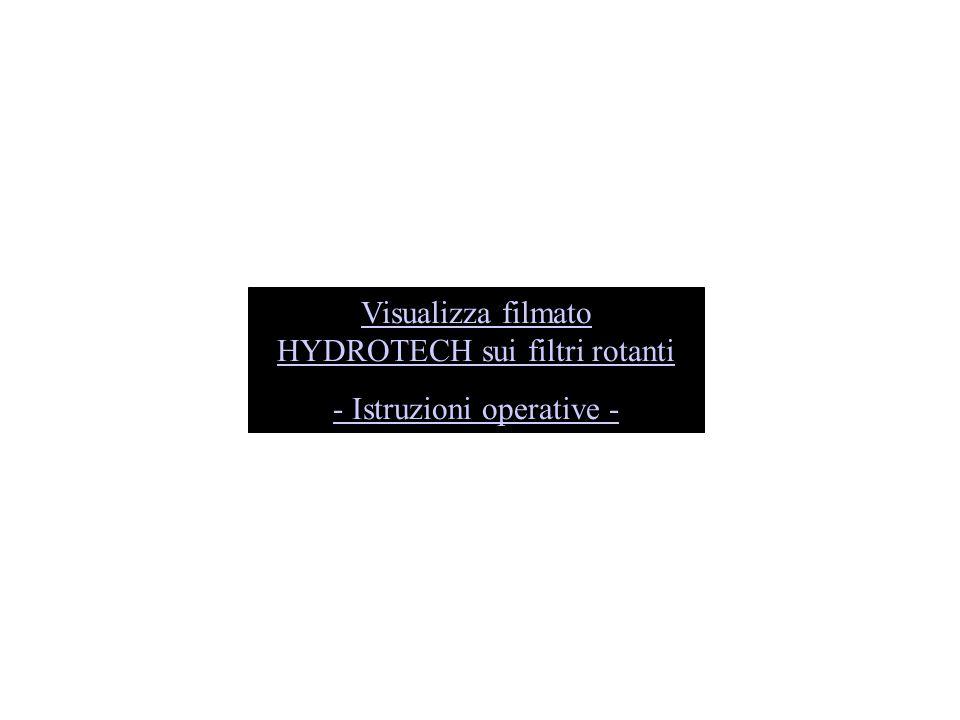 Visualizza filmato HYDROTECH sui filtri rotanti