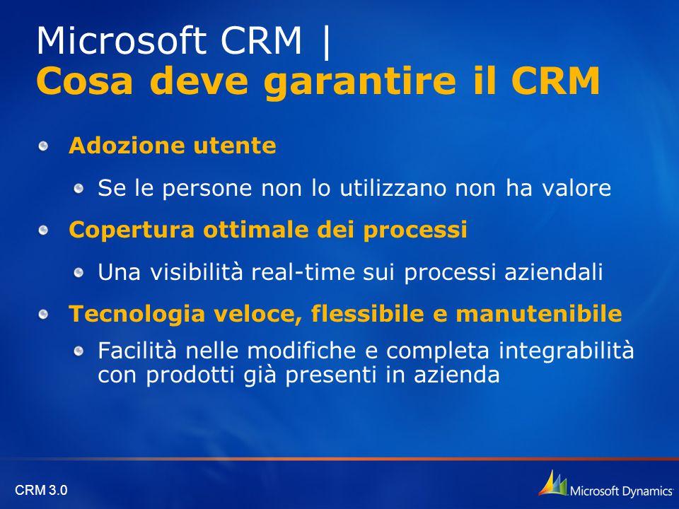 Microsoft CRM | Cosa deve garantire il CRM