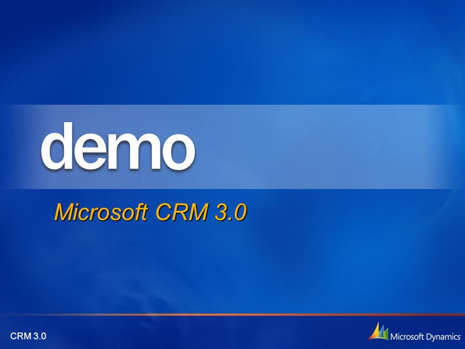Microsoft CRM 3.0 4/14/2017 1:26 PM Sottolineare novità merge
