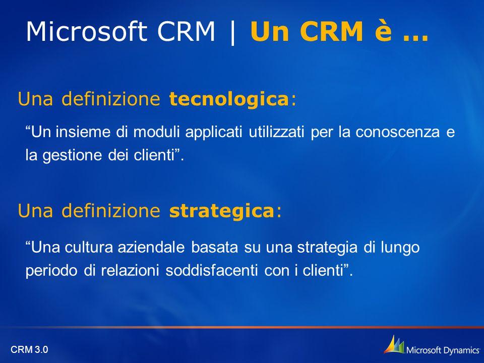 Microsoft CRM | Un CRM è …