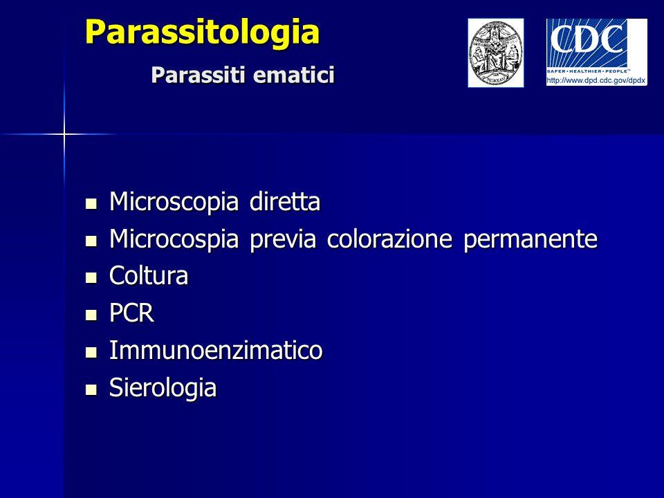 Parassitologia Parassiti ematici
