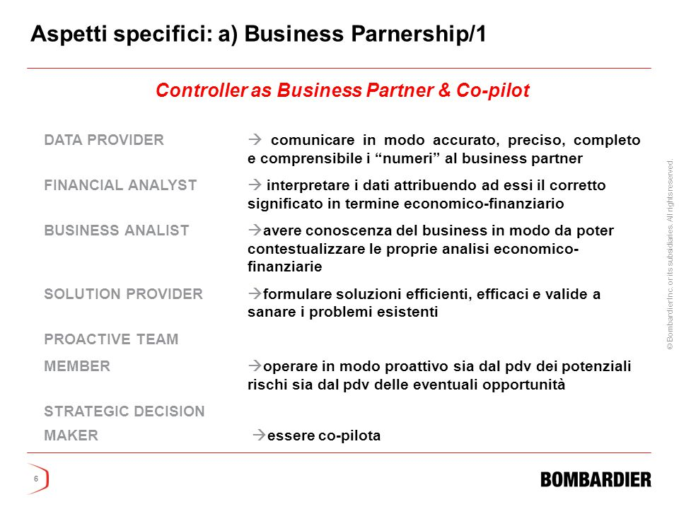 Controller as Business Partner & Co-pilot