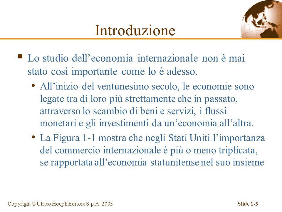 Introduzione Lo studio dell'economia internazionale non è mai stato così importante come lo è adesso.