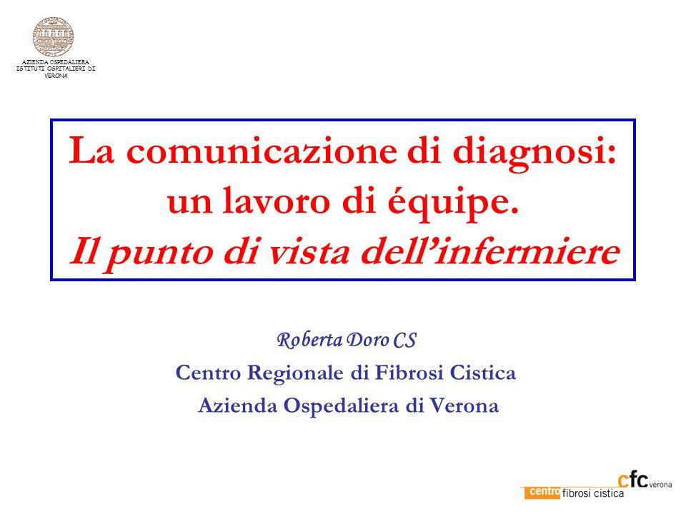 Centro Regionale di Fibrosi Cistica Azienda Ospedaliera di Verona