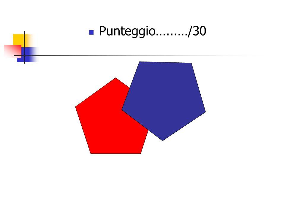 Punteggio…...…/30