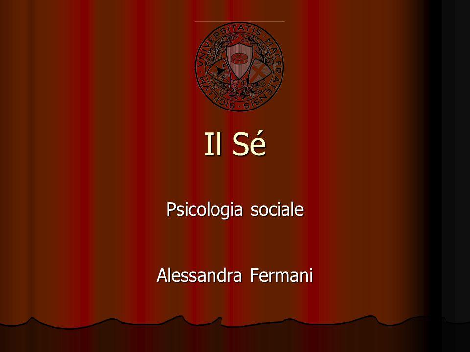 Psicologia sociale Alessandra Fermani