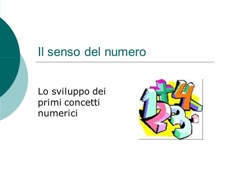 Lo sviluppo dei primi concetti numerici