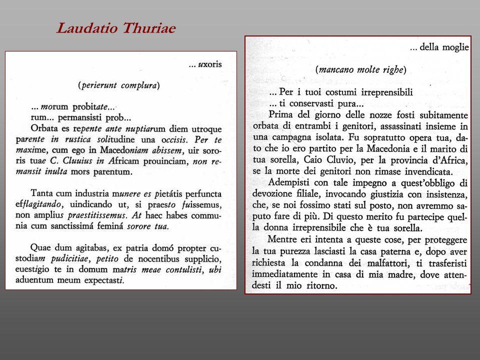 Laudatio Thuriae