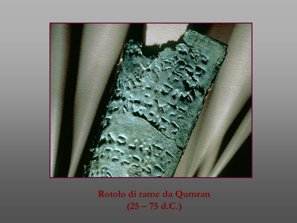 Rotolo di rame da Qumran
