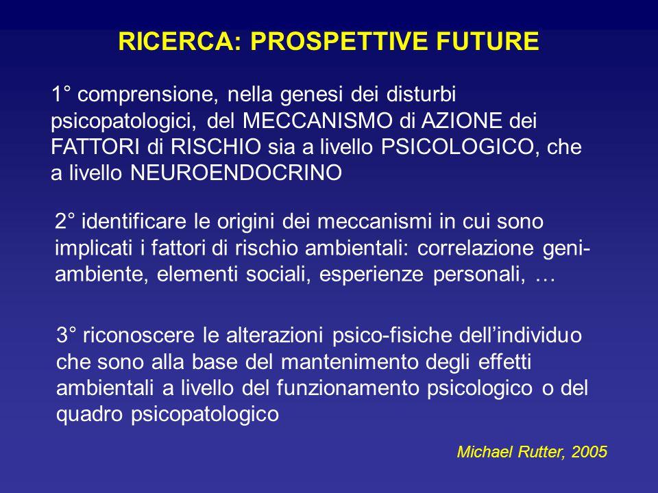 RICERCA: PROSPETTIVE FUTURE