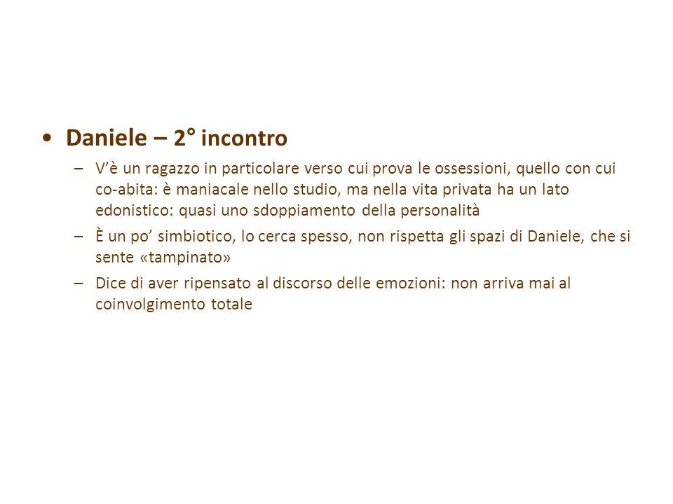 Daniele – 2° incontro
