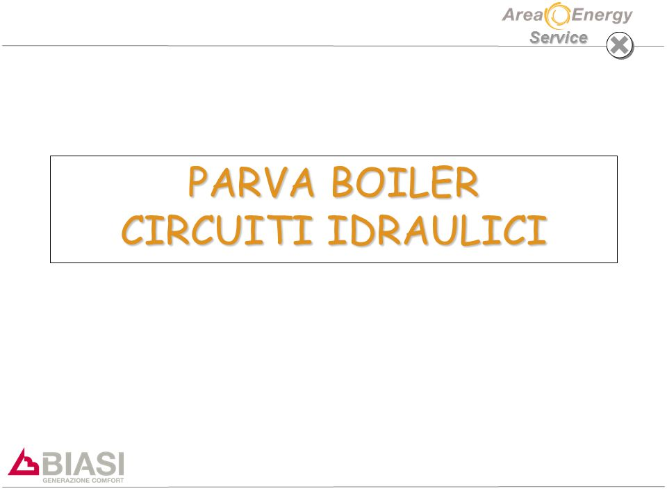 PARVA BOILER CIRCUITI IDRAULICI