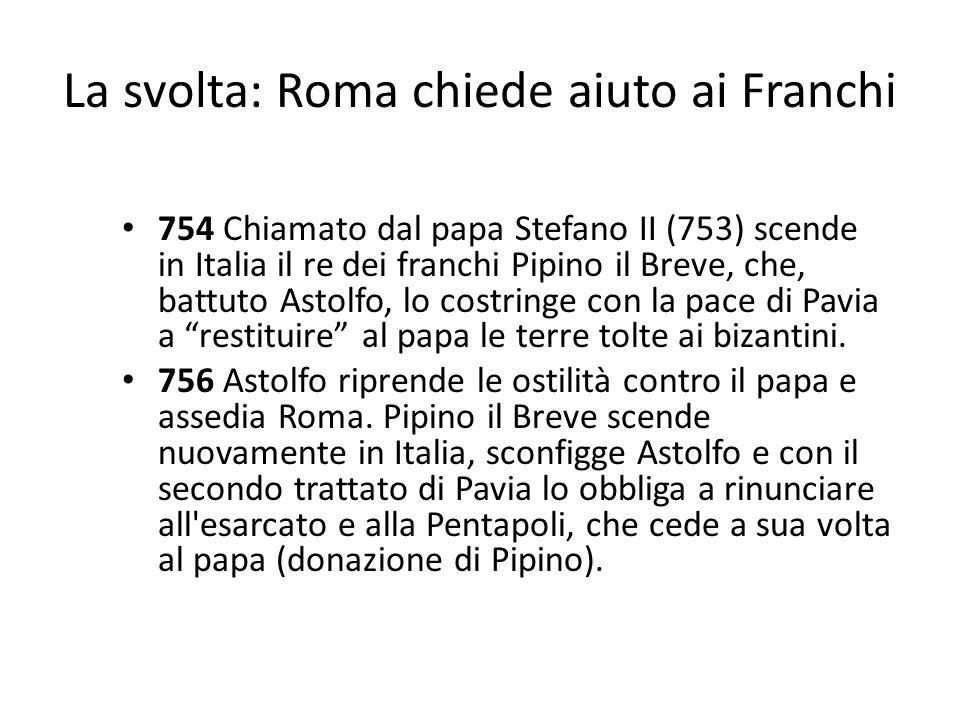 La svolta: Roma chiede aiuto ai Franchi