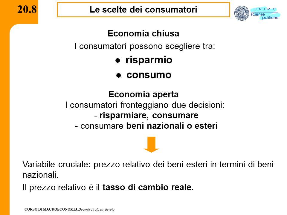 Le scelte dei consumatori