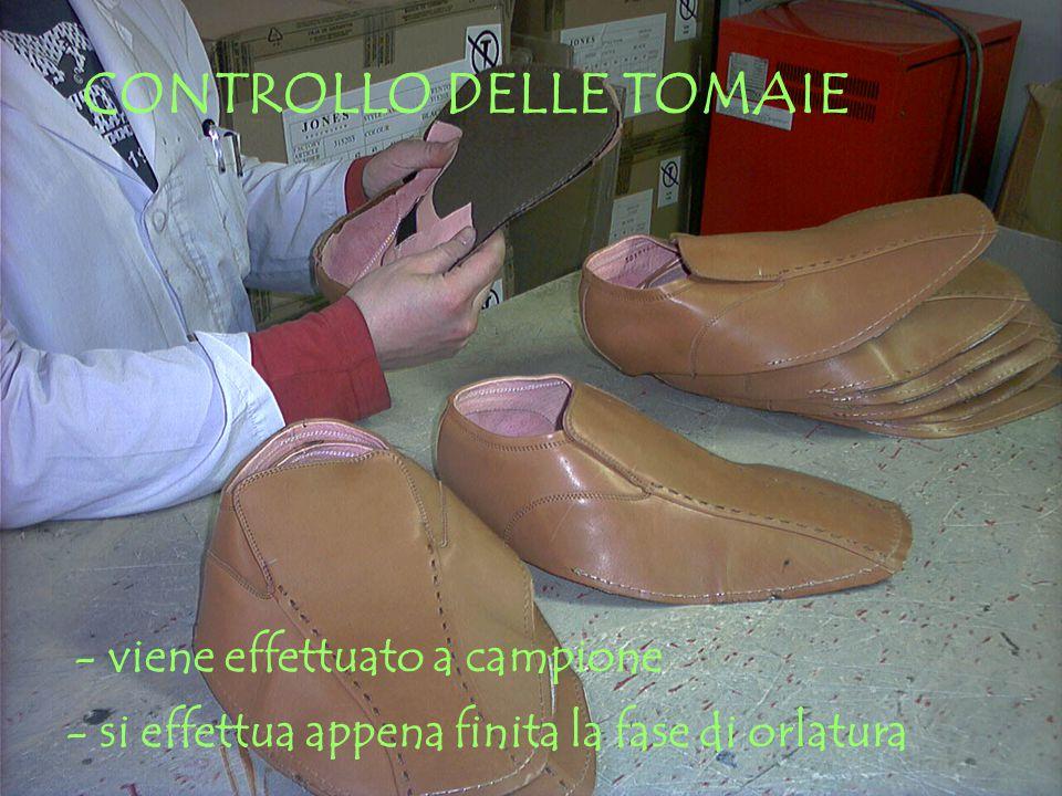 CONTROLLO DELLE TOMAIE