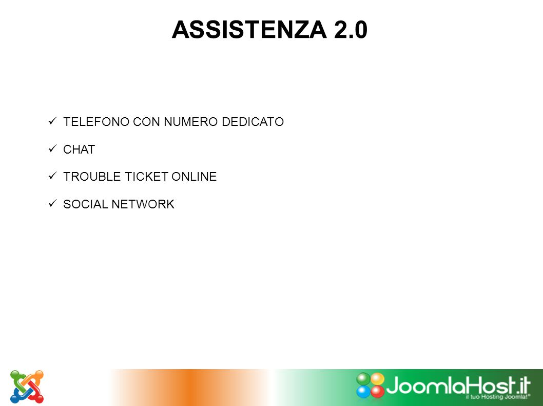 ASSISTENZA 2.0 SSL GRATUITO PER IL PRIMO ANNO
