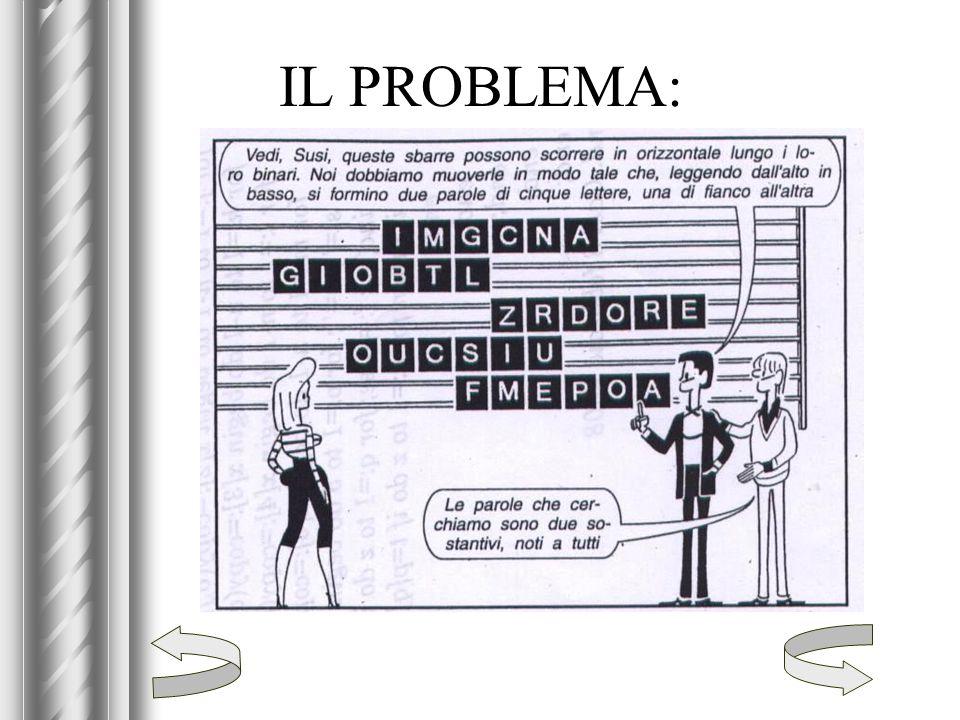 IL PROBLEMA:
