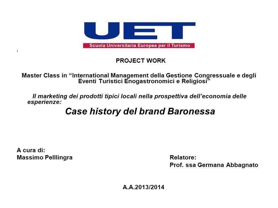 Case history del brand Baronessa