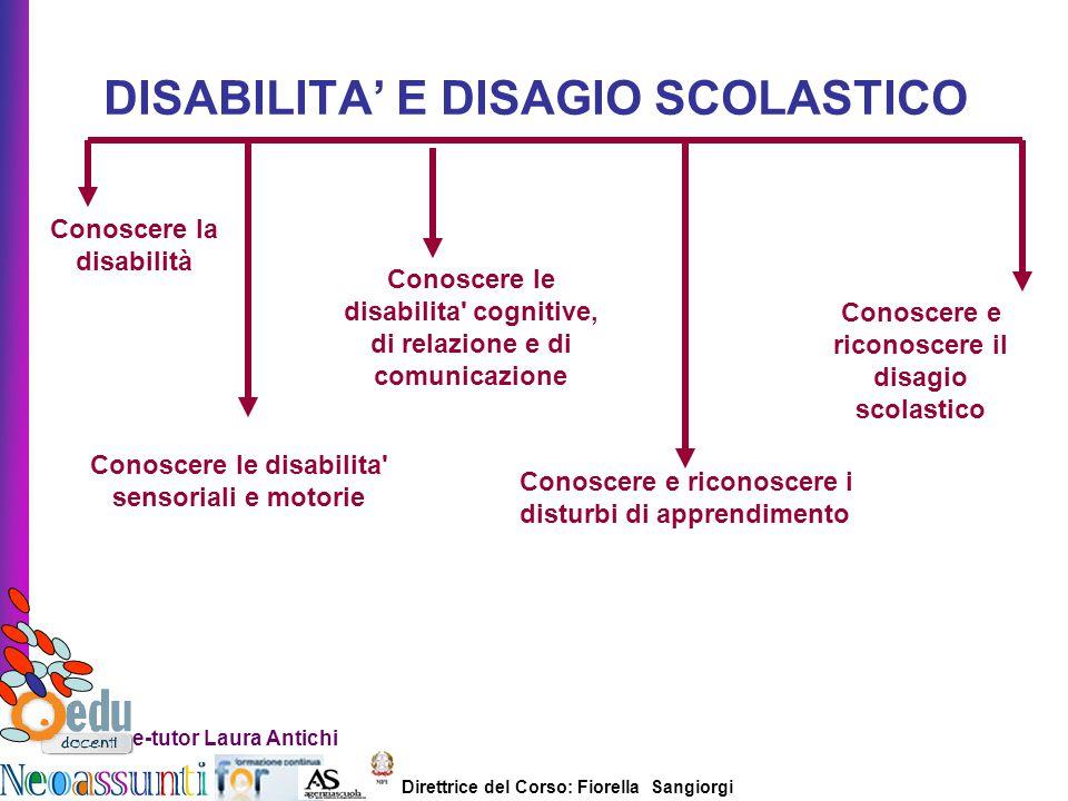 DISABILITA' E DISAGIO SCOLASTICO